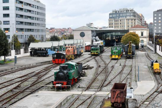 Steam Trains @ Museo del Ferrocarril de Asturias | Gijón | Principado de Asturias | Spain