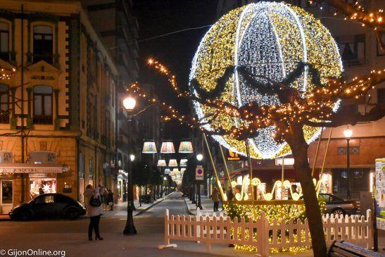 A beautiful Christmas in Gijon!